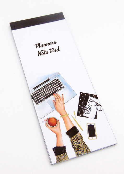 Planners Note Pad