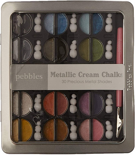Pebbles Inc. I Kan'dee Chalk Set-Metallics