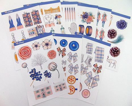 Winter - Decorative Stickers
