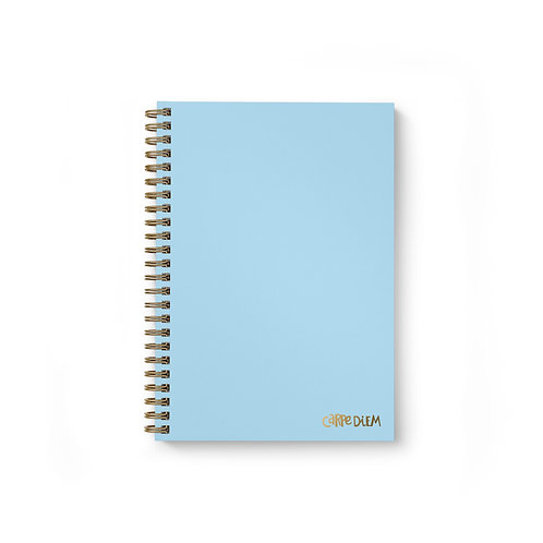 Sky Blue B5 Hardcover Note Book