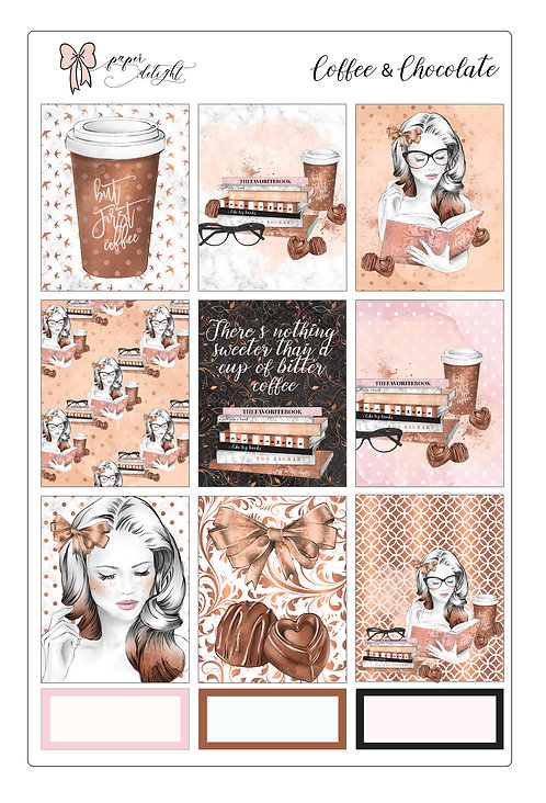 Coffe & Chocolate printable | للتحميل فقط