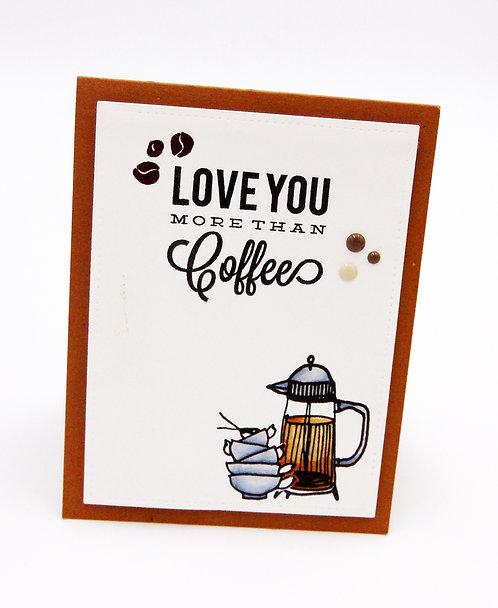 أحبك أكثر من القهوة