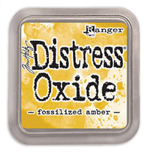 Ranger Ink Pad Fossil Amber THoltz Distress Oxides FsAmber