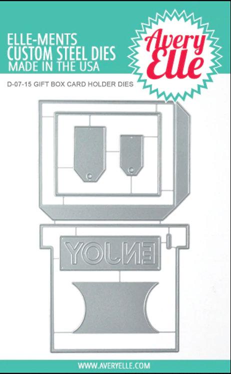 Gift Box Card Holder Elle-ments