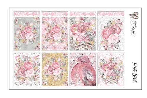 Pink Bird printable | ملف تحميل فقط