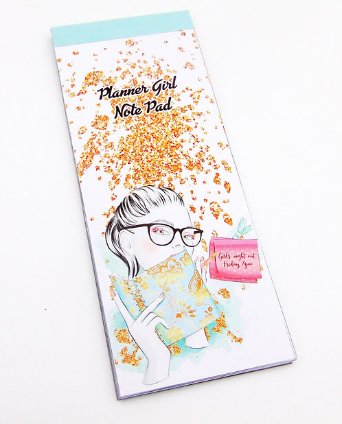 Planner Girl Note Pad