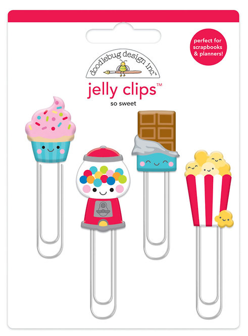 Doodlebug So Sweet Jelly Clips