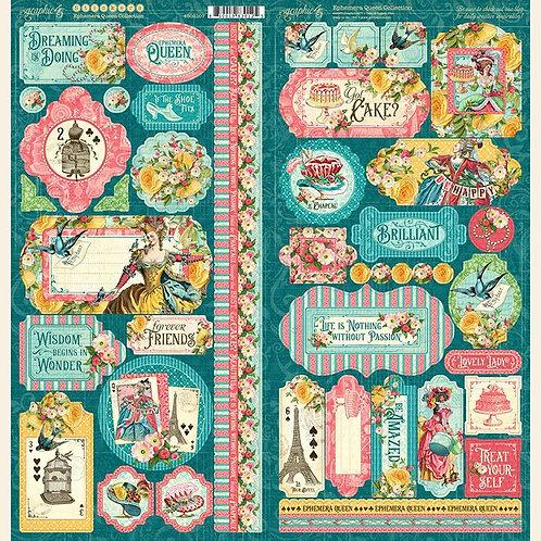 Ephemera Queen Stickers