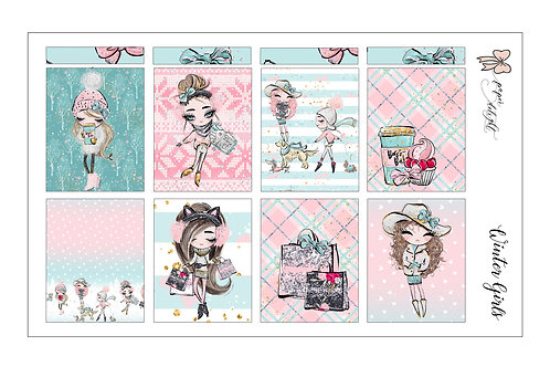 Winter Girls printable | للتحميل فقط