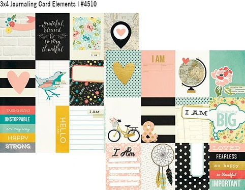 I Am Journaling Card Elements
