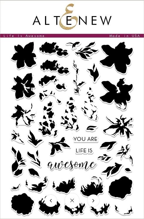 Life Is Awesome Stamp & Die Bundle