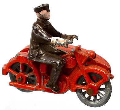 Early 'Morestone' Motorcycle & Sidecar