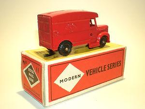 Budgie Miniatures No.11 Royal Mail Van - bpw, Modern (type 1) box