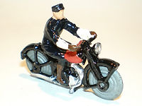 Britains Lilliput World Vehicle Series LB/550 Speed Cop Motorcycle