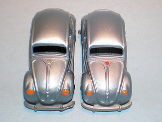 Budgie Miniatures No.8 Volkswagen - trim variations