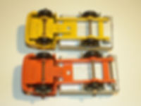 Budgie Miniatures No.24 Refuse Truck - base variations