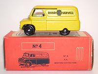 Morestone Esso Petrol Pump Series N0.4 AA Bedford Van