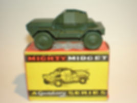 Benbros Mighty Midget No.12 Scout Car