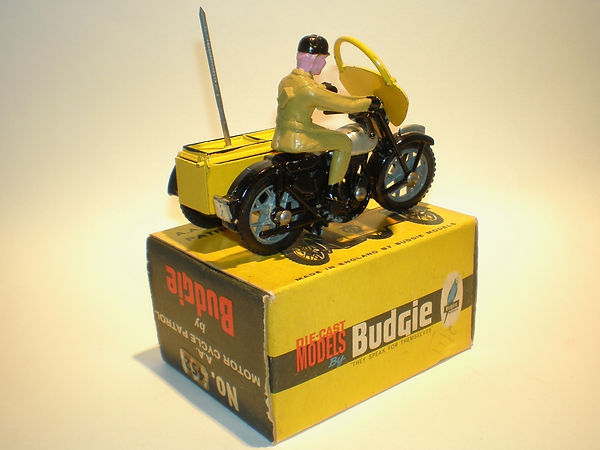 Budgie No.452 AA Motorcycle Patrol (Series1)