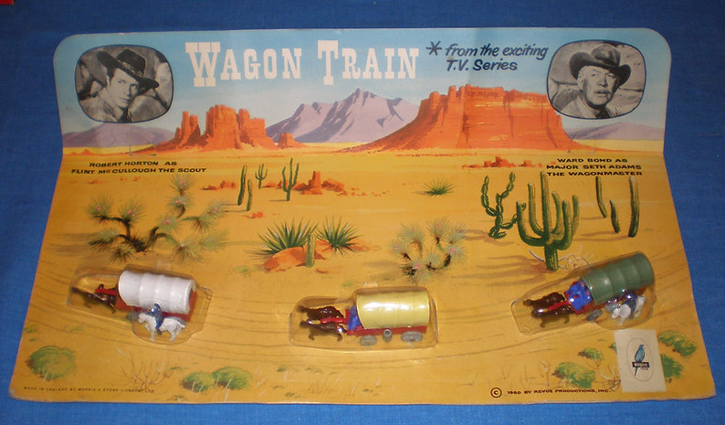 Budgie Miniatures Wagon Train Set