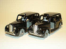 Budgie Miniatures No.13 Austin Taxi trim variations