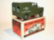 Morestone Military Police Land Rover