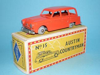 Budgie Miniatures No.15 Austin Countryman - umw, Mobile box