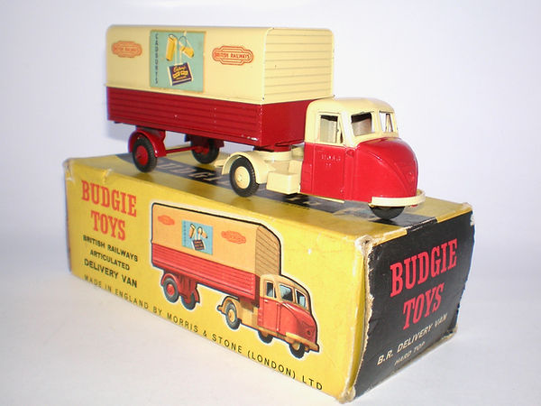 Budgie No.238 British Railways Delivery Van