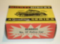 Benbros No.37 Police Car - Mighty Midget box