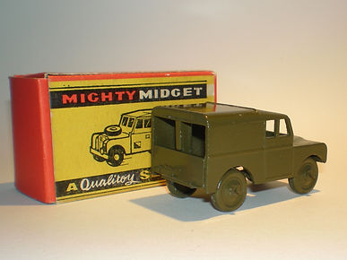 Benbros Mighty Midget No.35 Army Land Rover