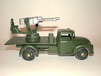 Benbros Qualitoys A102 Anti-Aircraft Gun