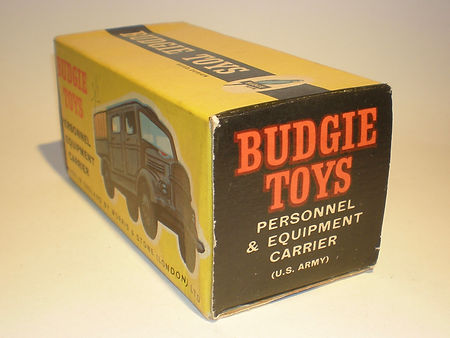 Budgie No.210 Personnel & Eqiuipment Carrier (US Army) box