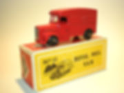 Budgie Miniatures No.11 Royal Mail Van - bpw, Modern (type 1) box