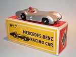 Budgie Miniatures No.7 Mercedes Benz Racing Car