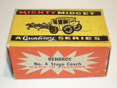 Benbros Mighty Midget No.4 Stage Coach box