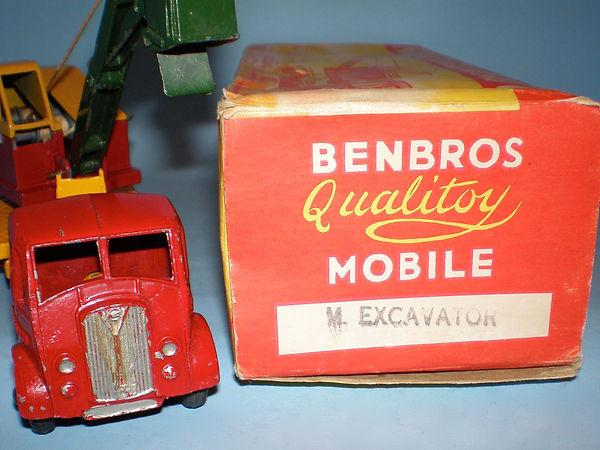 Benbros Qualitoy Mobile Excavator
