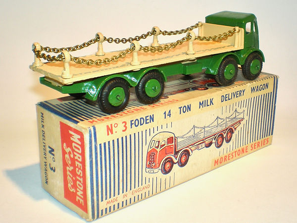 Morestone No.3 Foden Milk Delivery Truck