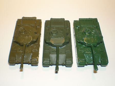 Benbros No.14 Tank - colour variations
