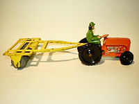 Benbros Qualitoys Tractor and Disc Harrow