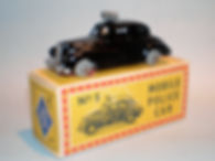 Budgie Miniatures No.5 Police Car - Mobile Vehicle Series