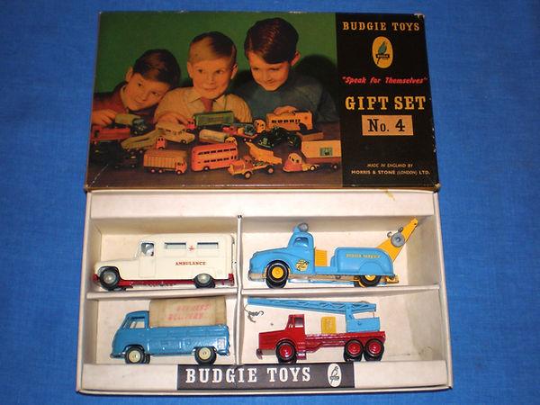 Budgie Gift Set No.4 (Series 1)