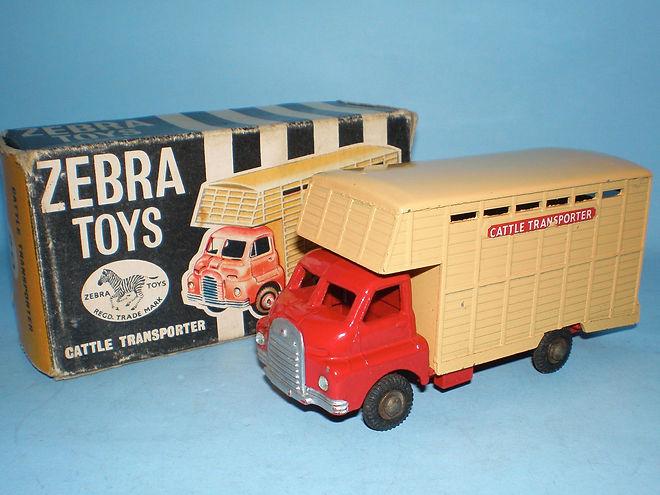 Benbros Zebra Toys Cattle Transporter