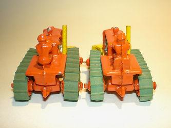 Benbros No.10 Bulldozer seat variations