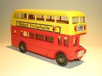 Budgie No.706 Routemaster Bus - Watford FA Cup