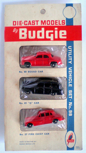 Budgie Miniatures Triple blister-pack No.98b Utility Vehicle Ser