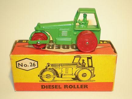 Budgie Miniatures No.26 Diesel Roller