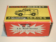 Benbros No.34 AA Road Service Land Rover Mighty Midget box