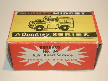 Benbros No.34 AA Road Service Land Rover Mighty Midget box