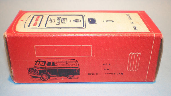 Morestone Esso Petrol Pump Series No.4 box (type 1)