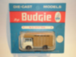 Budgie Miniatures No.25 Cattle Truck - blue blister-pack